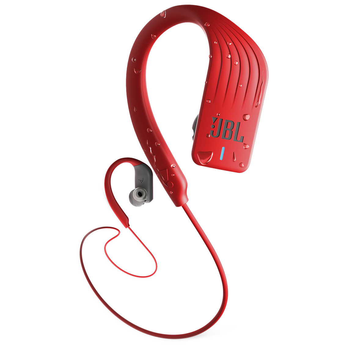 Image For JBL Endurance Sprint<br>Earbuds<br>Red