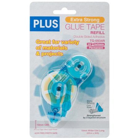 Image For Extra Strong Double Sided<br>Glue Tape Refill<br>10mm