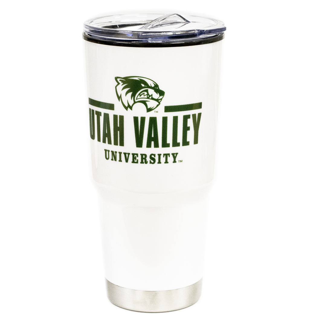 Image For Omega White travel<br>24 OZ Tumbler