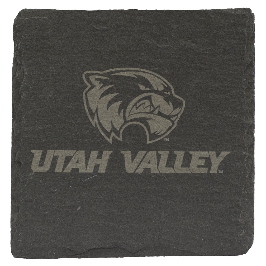 Image For Utah Valley Printed<br> Bennington Slate Coaster