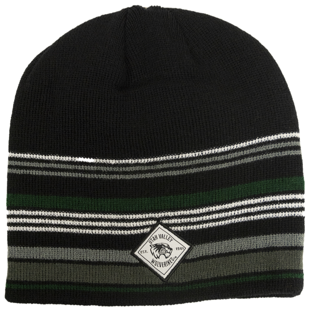 Cover Image For TOW Avenue Black<br>Knit Beanie