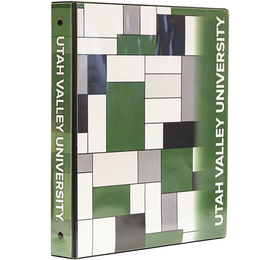 Cover Image For UVU Mondrian<br>Square Binder