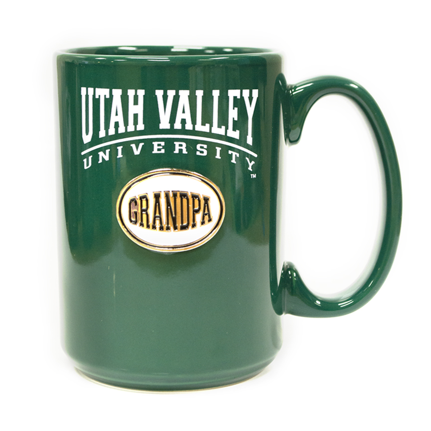 Image For Ceramic Mug<br>Grandpa Medallion