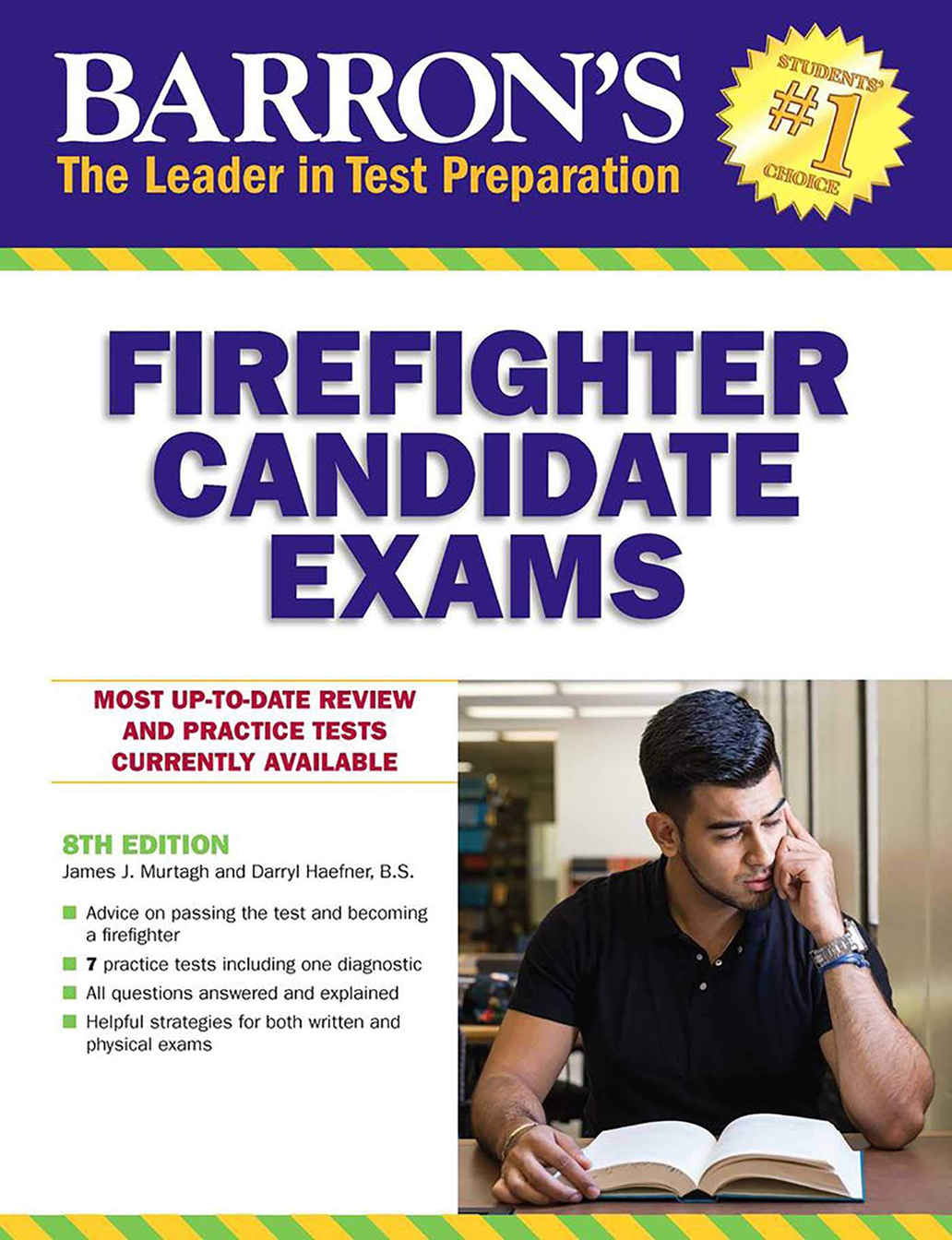 Image For Barron's Firefighter<br>Candidate Exams, 7th Edition