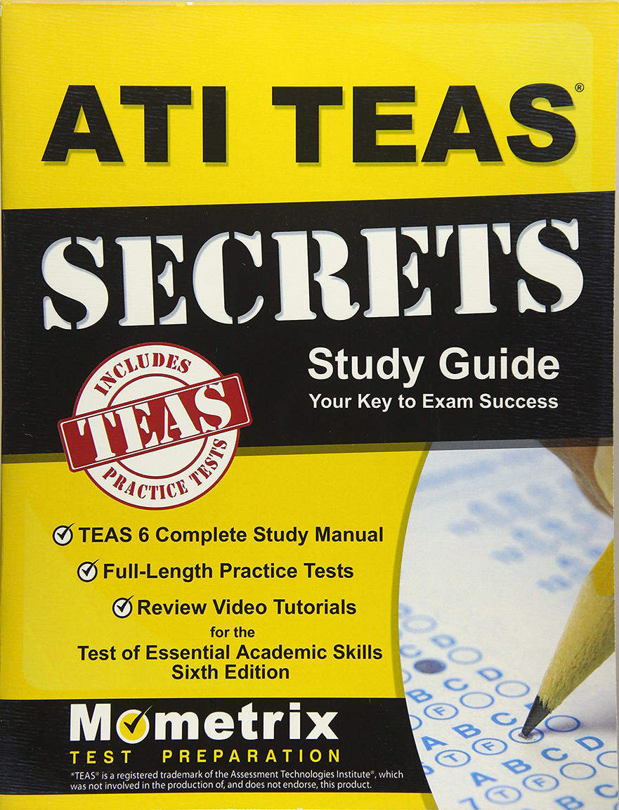 Image For Ati Teas Secrets<br>Study Guide<br>6th Ed.