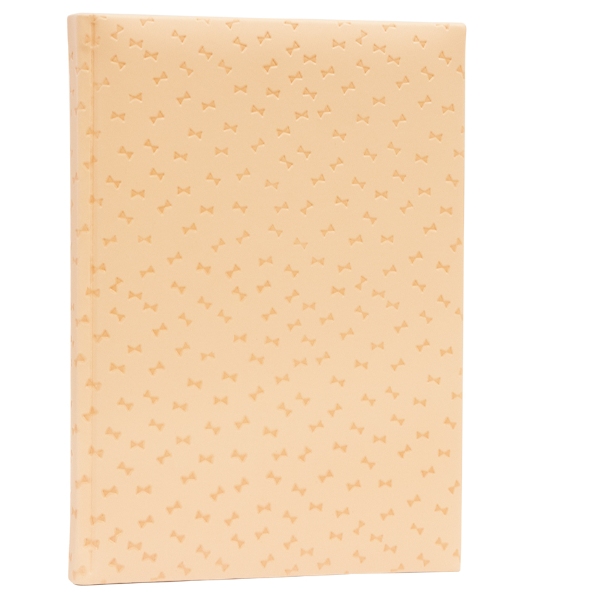 Cover Image For Belvedere Ruled Notebook<br>Soft Pink Bows
