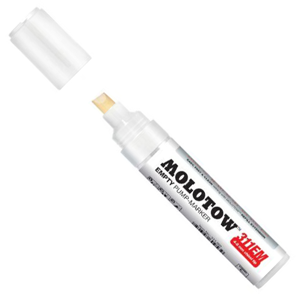Image For Molotow Empty Pump-Marker<br>1mm Brush tip