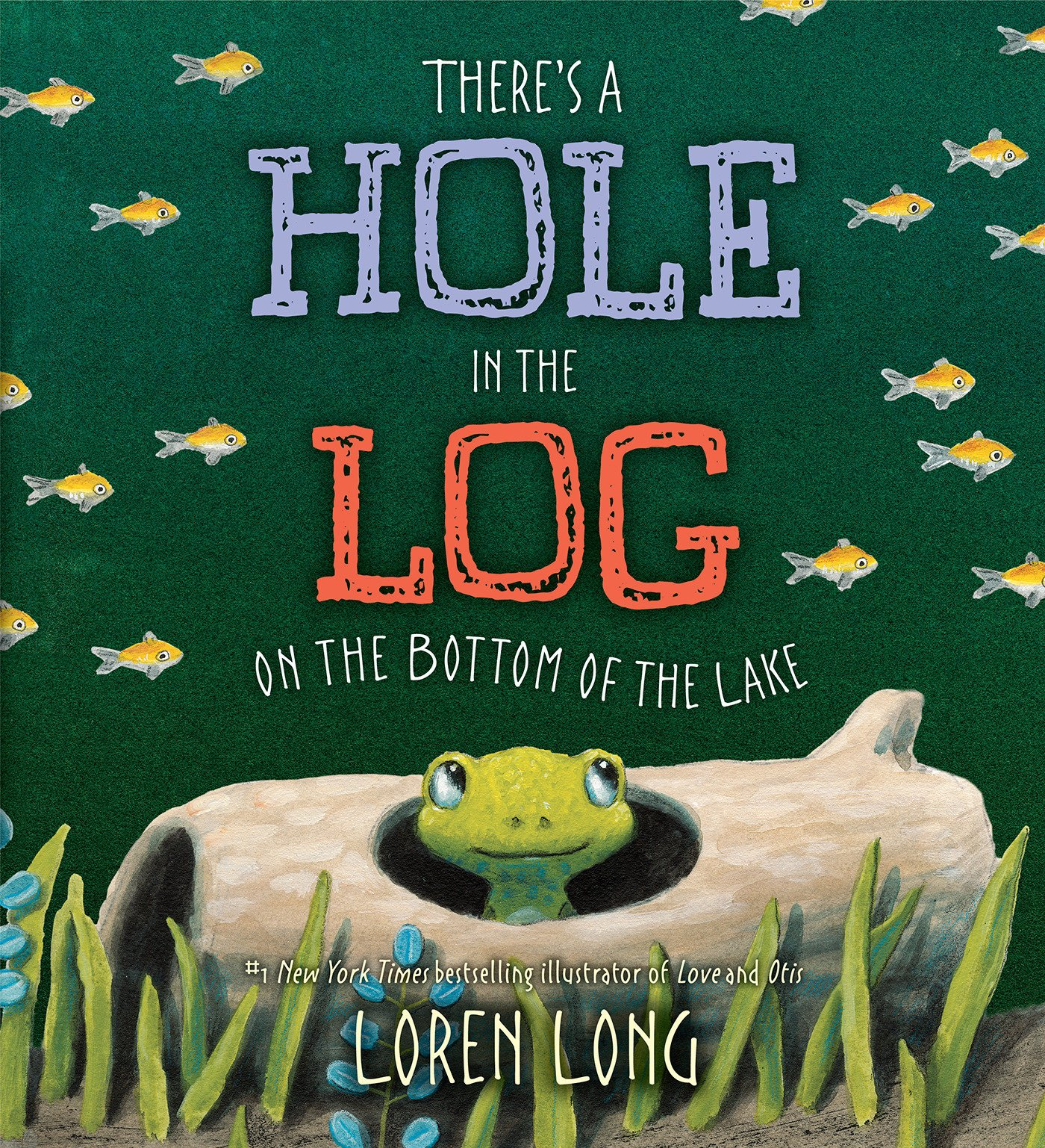 Image For There's a Hole in the Log<br>Loren Long