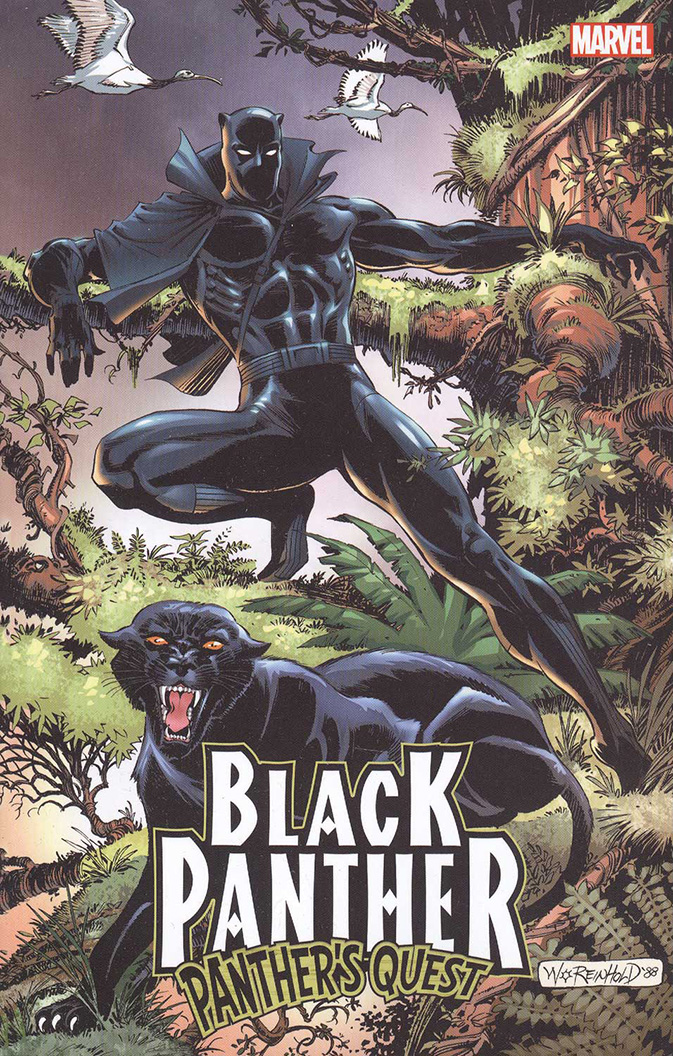 Image For Black Panther<br>Panthers Quest
