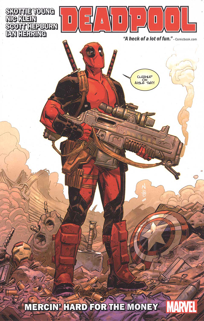 Image For Deadpool<br>by Skottie Young<br>Vol. 1