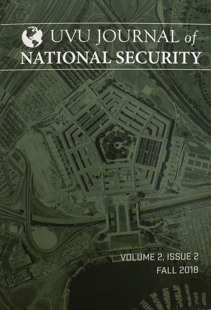 Image For UVU Journal of National Security<br>Volume 2, Issue 2