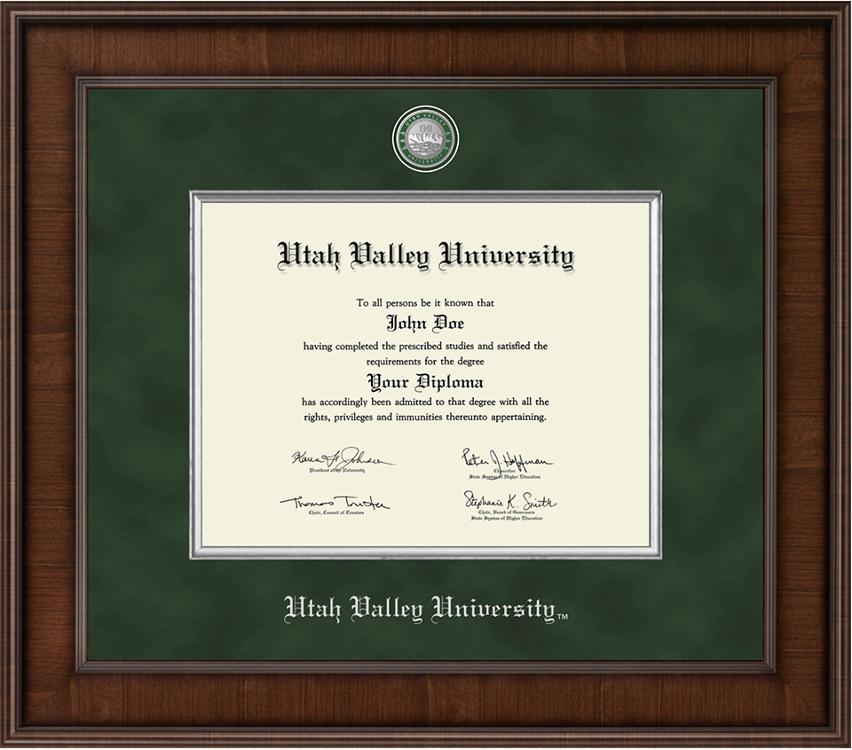 Image For Presidential Masterpiece<br>Diploma Frame