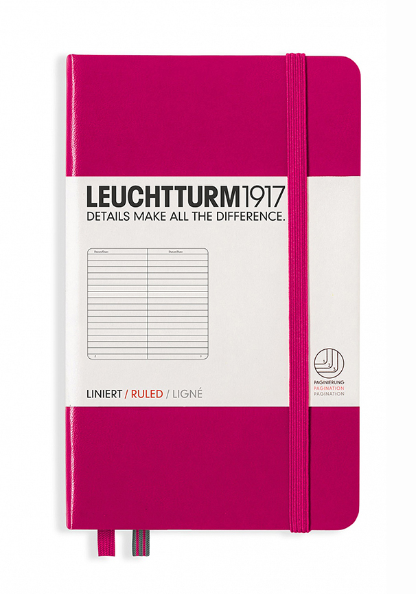 Cover Image For Leuchtturm1917<br>Pocket Notebook<br>Berry