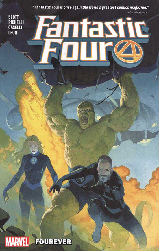 Image For Fantastic Four<br>Vol. 1 Fourever