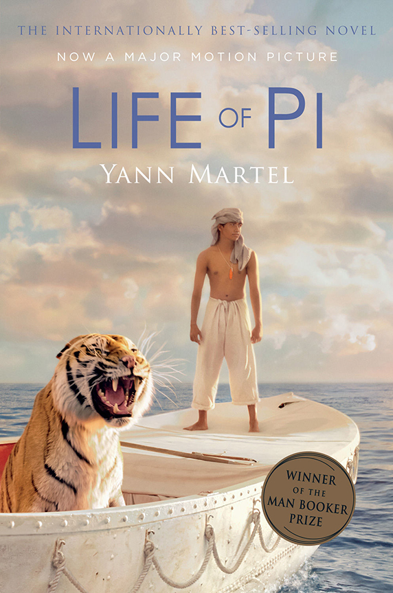 Image For Life of Pi<br>Yann Martel