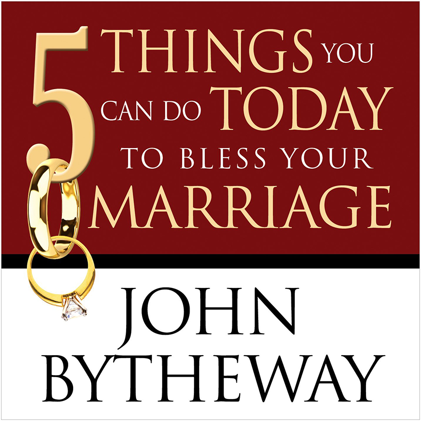 Image For 5 Things<br>To Bless Your Marriage - CD<br>John Bytheway