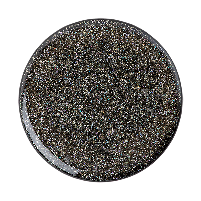 Cover Image For PopSocket Swappable<br>Glitter Black