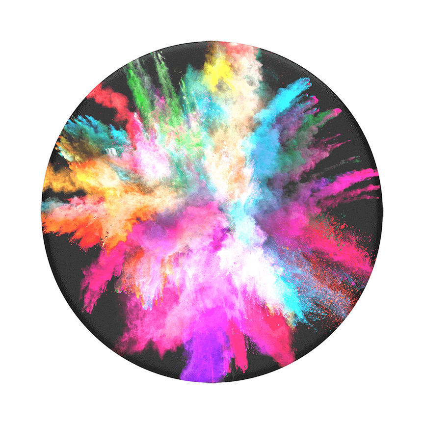 Image For PopSocket Swappable<br>Color Burst Gloss