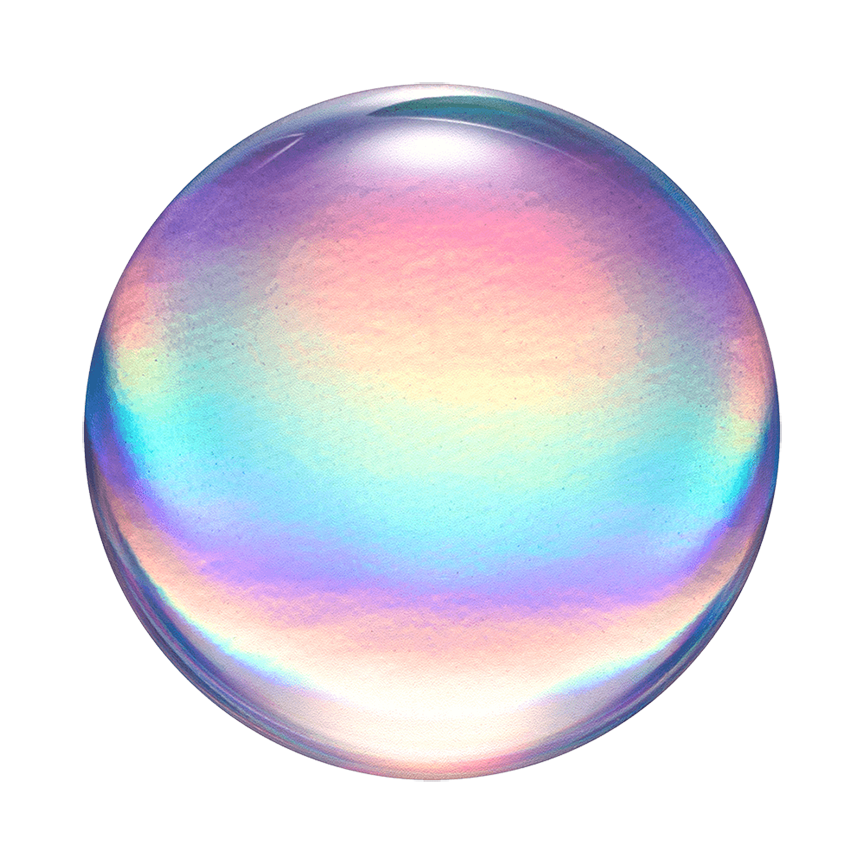 Image For PopSocket Swappable<br>Rainbow Orb Gloss