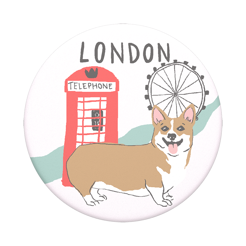 Image For PopSocket Swappable<br>London