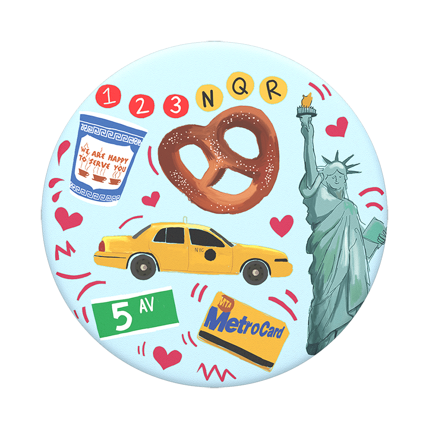 Cover Image For PopSocket Swappable<br>New York