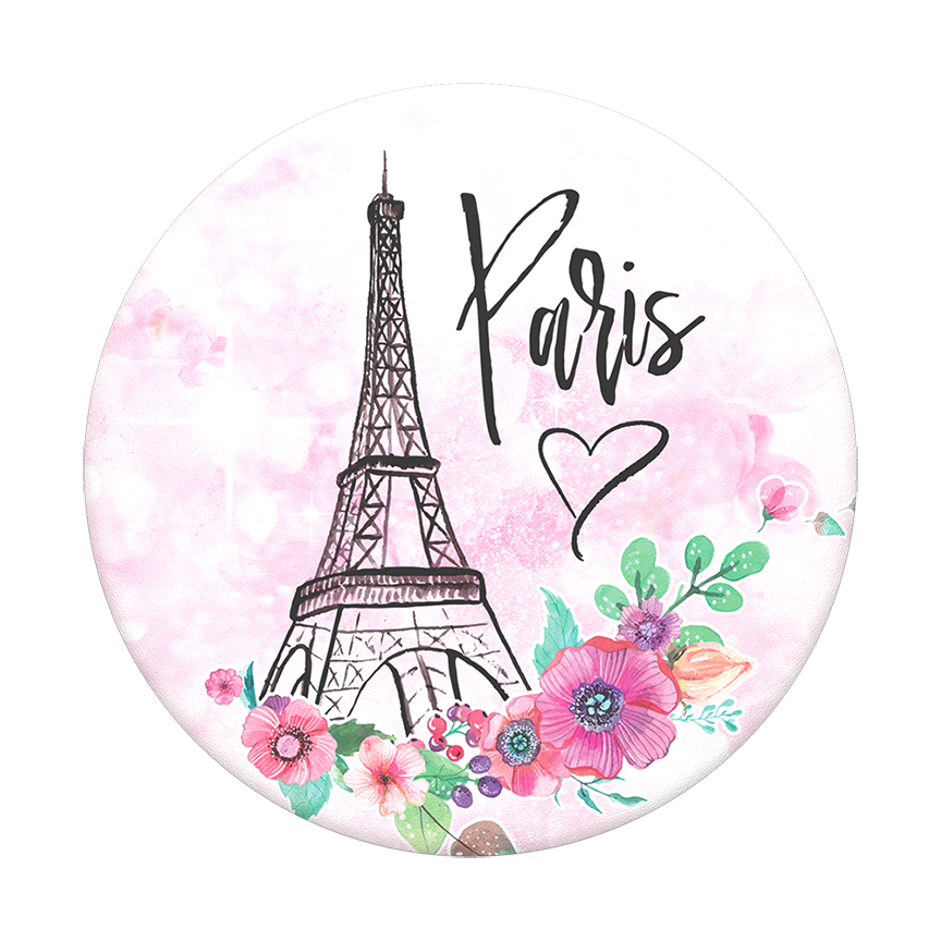 Image For PopSocket Swappable<br>Paris Love