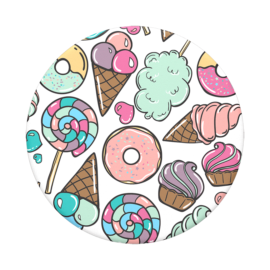 Image For PopSocket Swappable<br>Sugar Rush<br>Pop Top