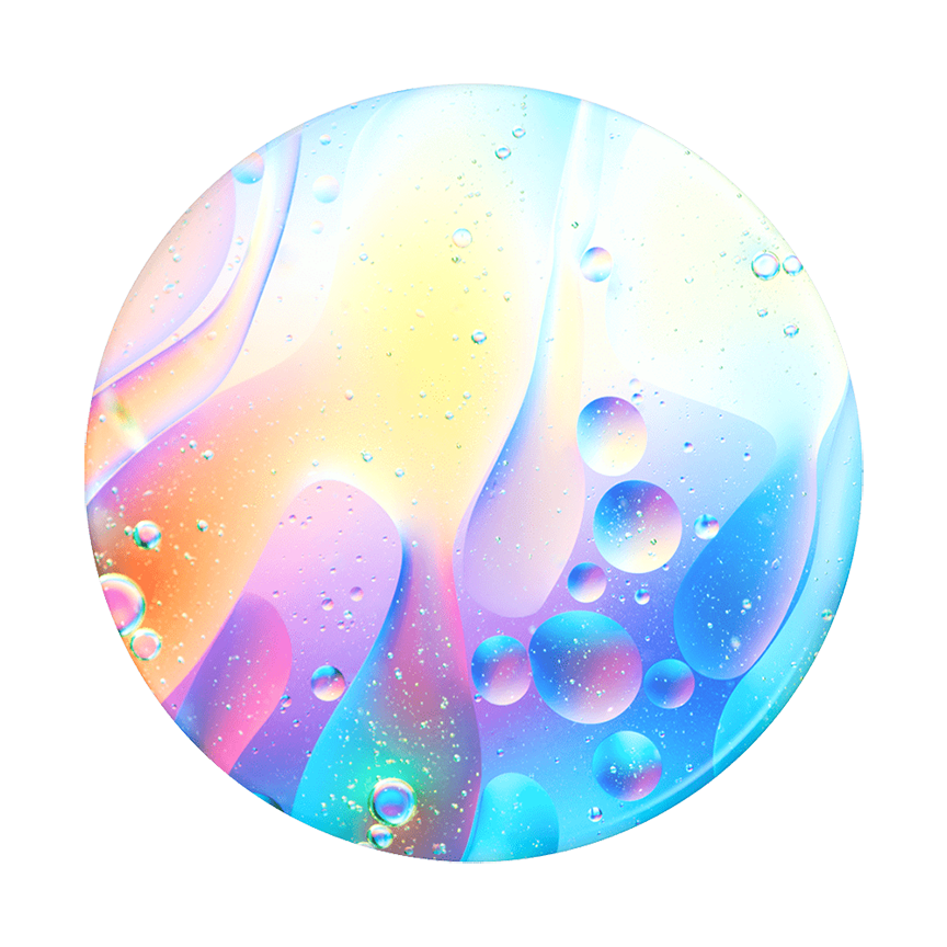 Image For PopSocket Swappable<br>Luminous Lava<br>Pop Top