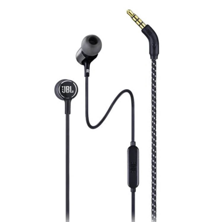 Image For JBL Live 100<br>Headphones w/ Remote<br>Black