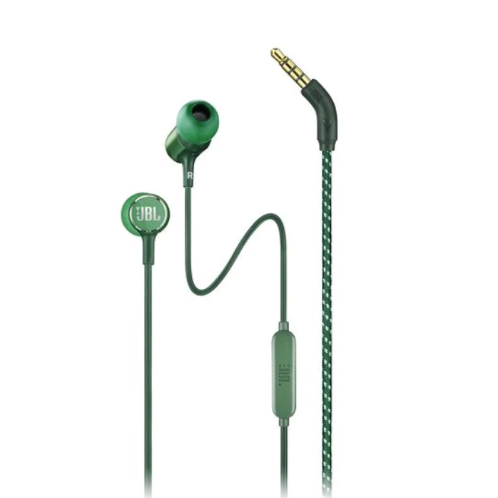 Image For JBL Live 100<br>Headphones w/ Remote<br>Green