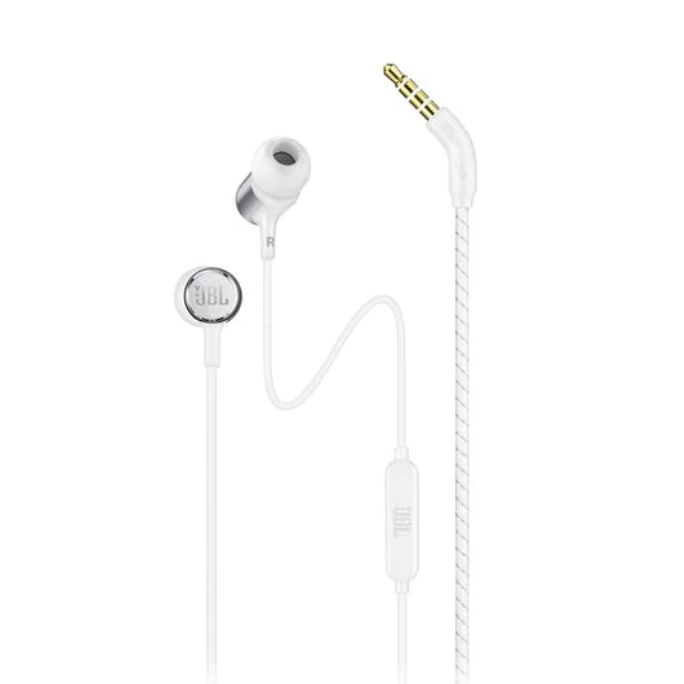Image For JBL Live 100<br>Headphones w/ Remote<br>White