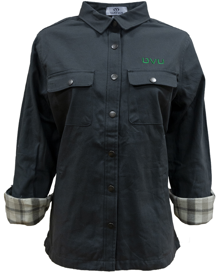 Image For Women's Cut<br>Vantage long sleeve<br>Jacket Shirt