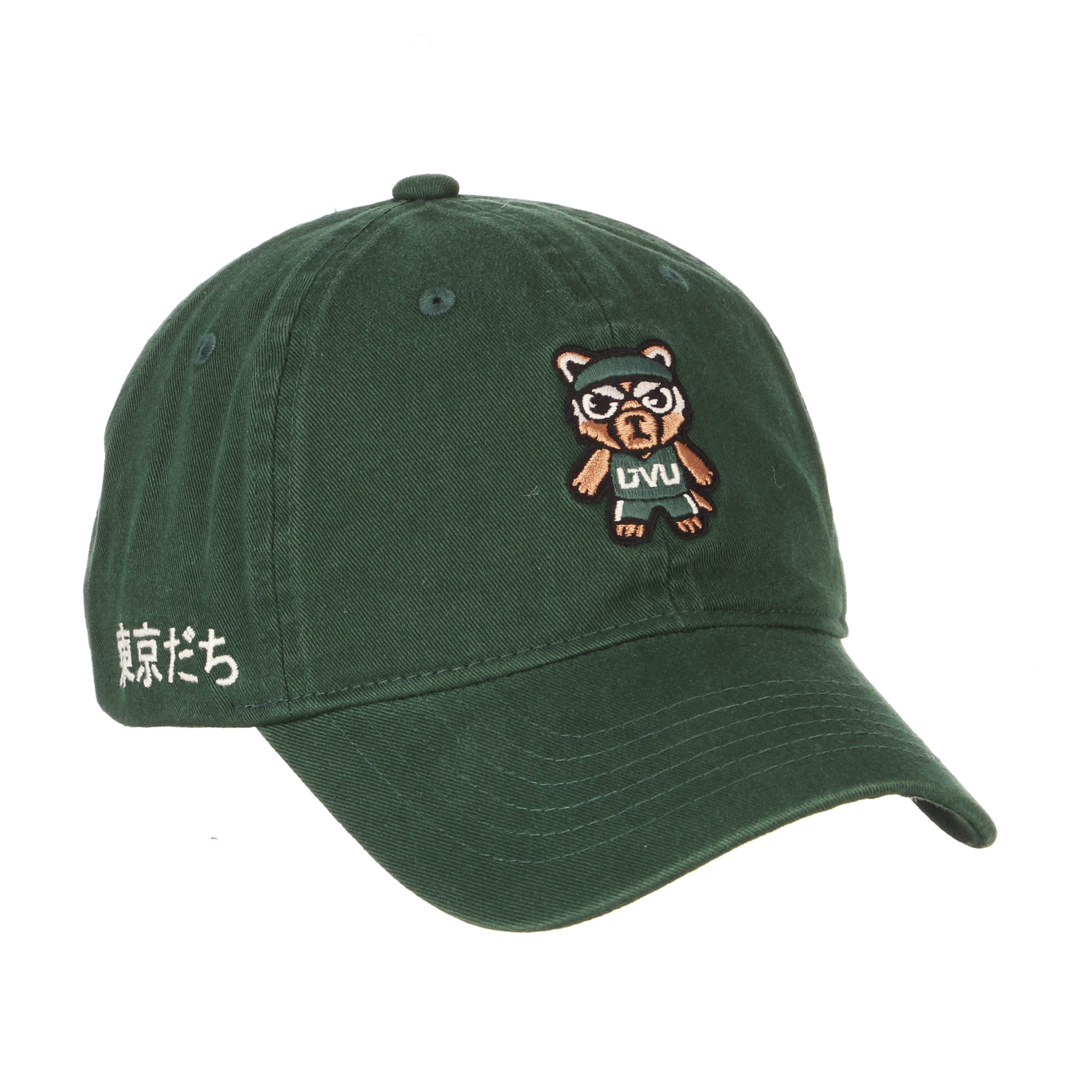 Image For Tokyodachi Green Shibuya<br>Willy Adjustable Hat