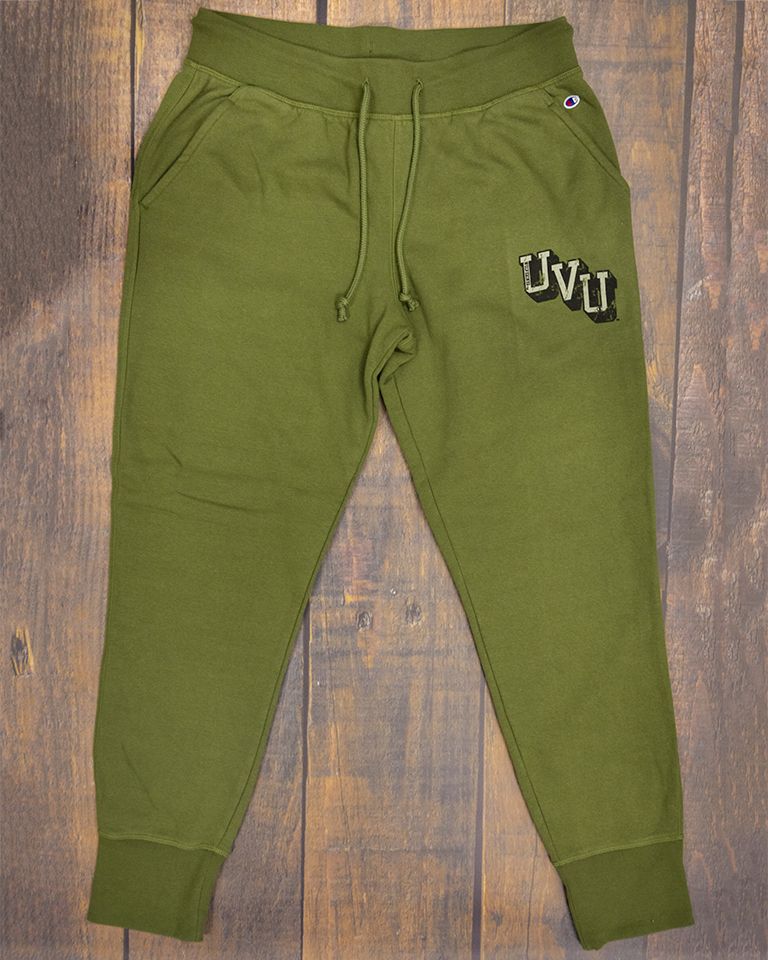 Image For Women's Cut Champion<br>Olive Jogger Pants