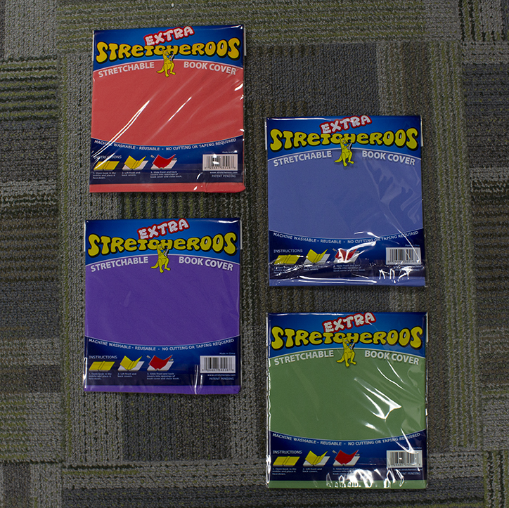 Image For Stretcheroos<br>Book Cover<br>Assorted Colors