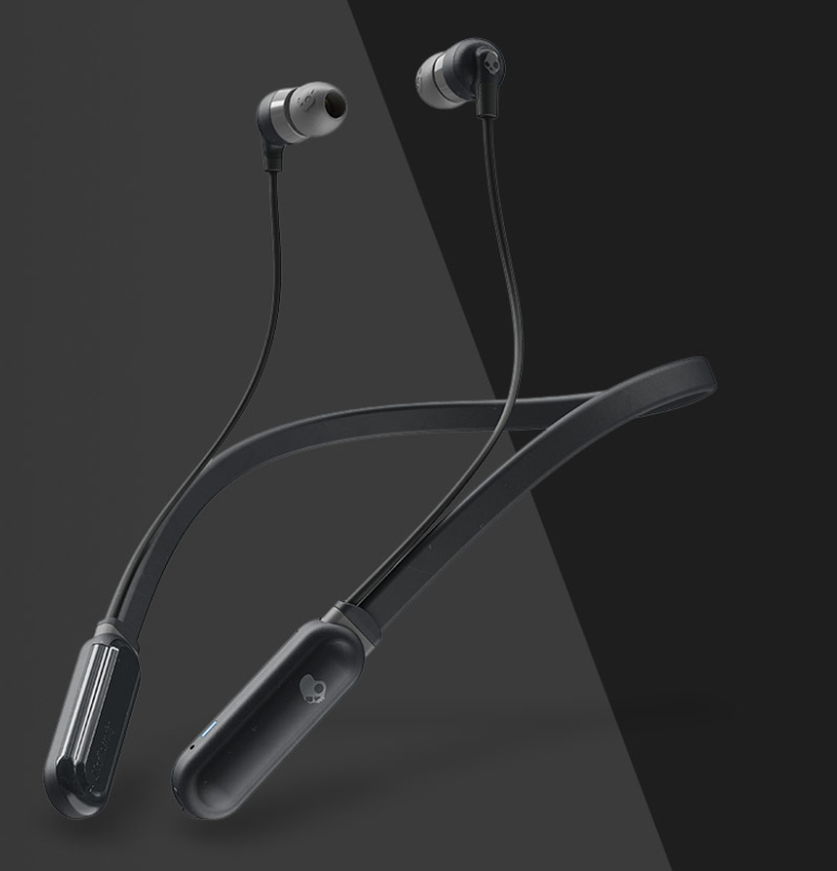 Image For SKULLCANDY INK'D+ WIRELESS EARBUDS-BLACK AND GRAY