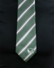 Cover Image for Striped Green Gray and White Tie