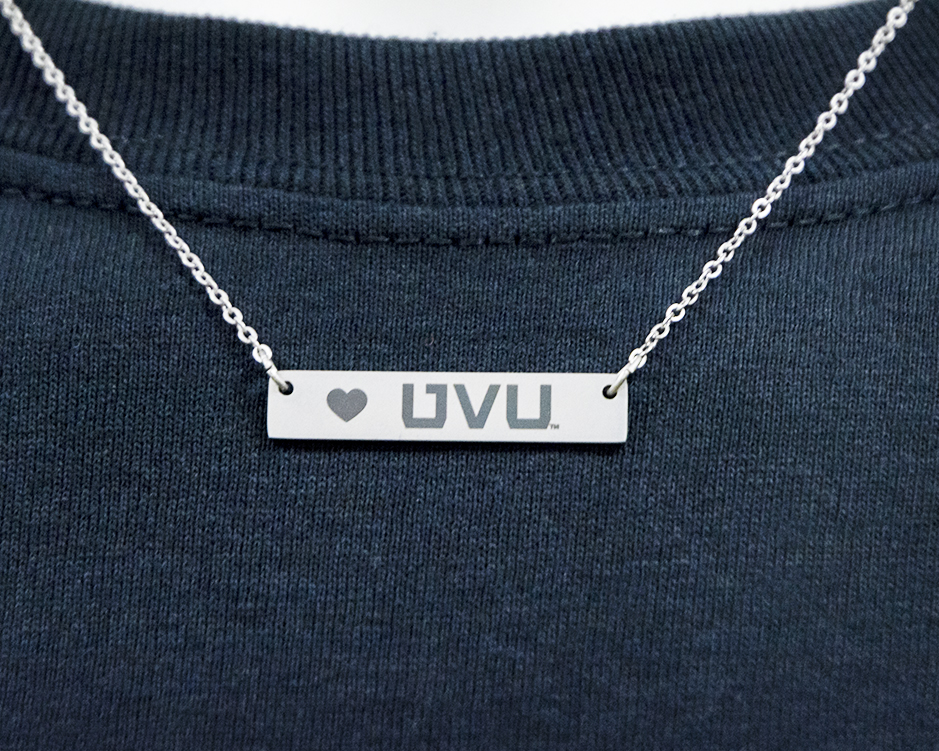 Image For UVU Bar Necklace