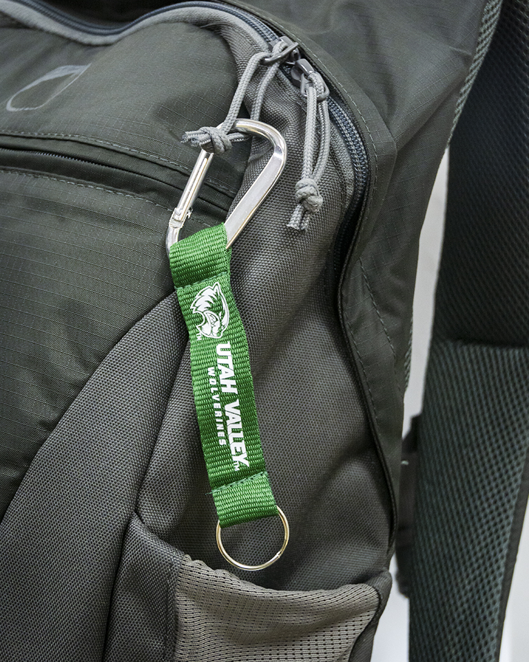 Cover Image For UVU Lanyard Key Tag