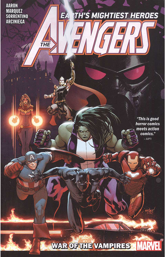 Image For Avengers By Jason Aaron<br>Vol. 3<br>War Of Vampire