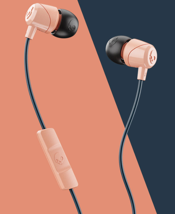 Image For Skullcandy Jib Wired In-Ear Headphones<br>Sunset and Black