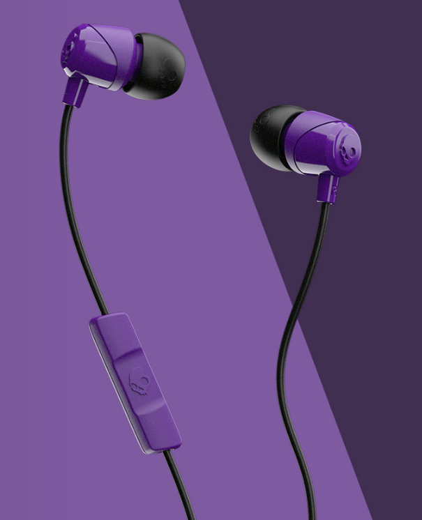 Image For Skullcandy Jib Wired In-Ear Headphones<br>Purple