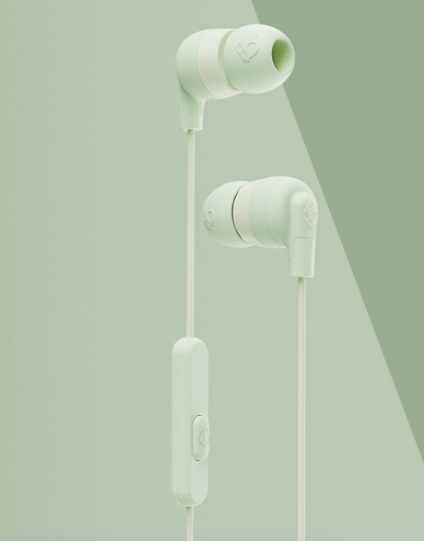 Image For Skullcandy Ink'd+ Wired Earbuds<br>Mint