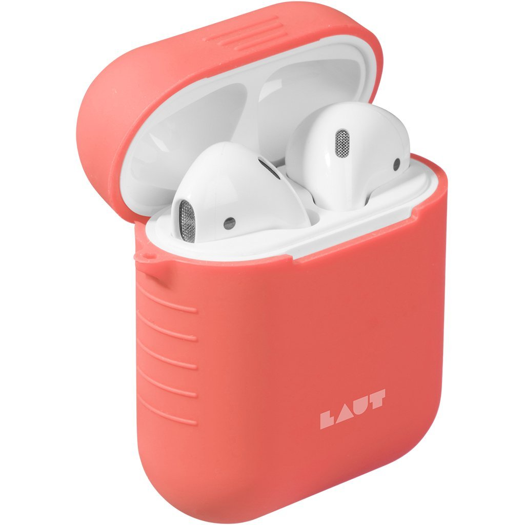 Image For Laut AirPod Charging Case<br>Coral