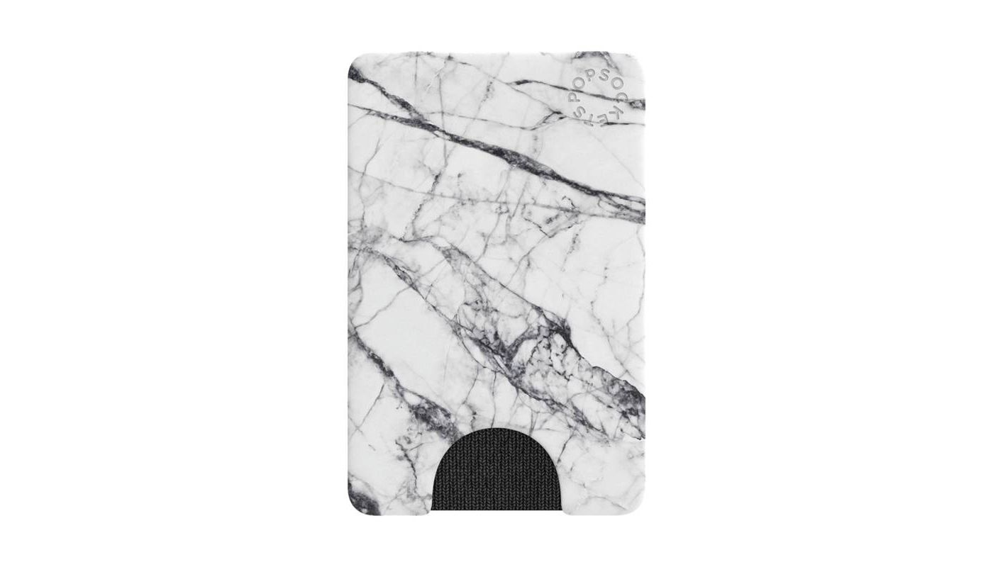 Cover Image For PopWallet<br>White Marble