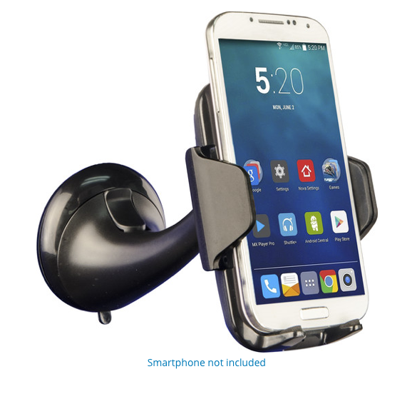 Image For iEssentials Wireless Charger Windshield Mount