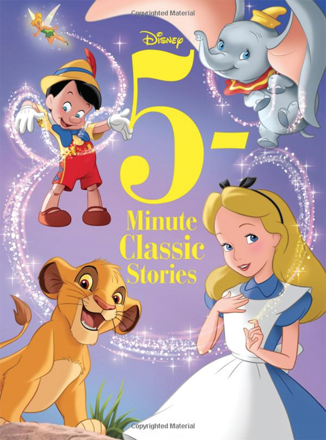 Image For 5-Minute Disney<br>Classic Stories