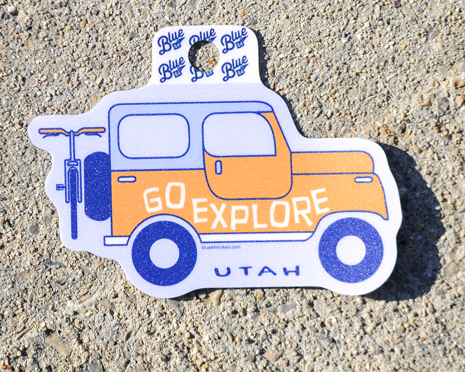 Image For GO EXPLORE <br>STICKER