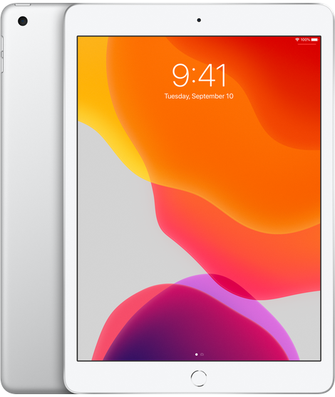 "Image For iPad 10.2""<BR>Silver 128GB"