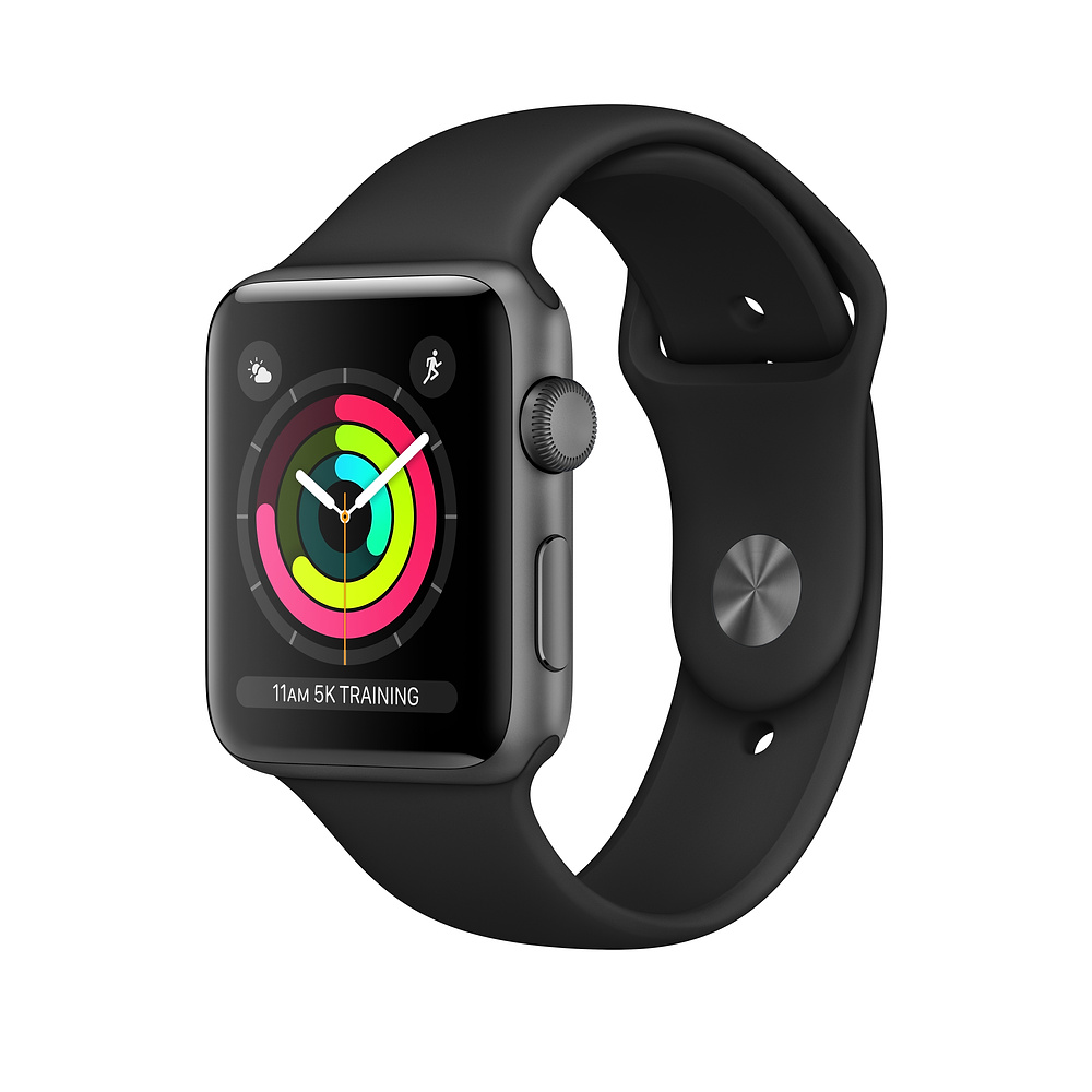 Image For APPLE WATCH<BR> SERIES 3 (GPS) <BR> SPACE GRAY<BR> 38MM